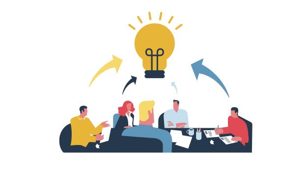 La colaboración es vital para una buena estrategia de crowdfunding.